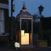 Three Kings Giant Copper Lantern 71cm (1950010RB)