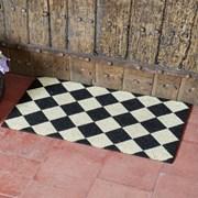 Smart Garden Black & White Decoir Doormat 45x75 (5511022)
