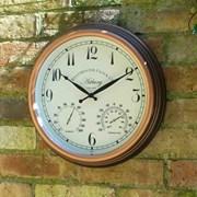 "Smart Garden Astbury Wall Clock & Thermometer 15"" (5060011)"