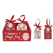 Santas Magic Key 2 Asst (8XS415)