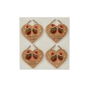 Robin Heart Hanger 4 Asst (8XS462)