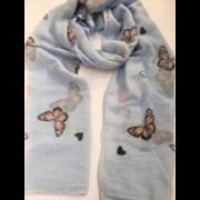 Scarves Butterfly Print Asstd (TR6251/TR6412/90175)