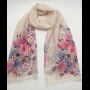 Scarves Floral Print & Jewels Asstd (LP3013/90196)