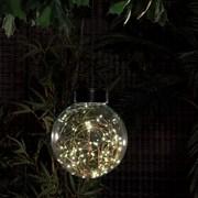 Hanging Fine Wireglass Ball Light 24cm (9020001)