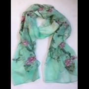 Scarves Floral Chiffon Asstd (CH1101/90217)