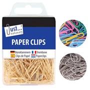 Js Paper Clips Assorted (9192)