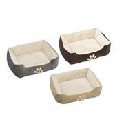 Pet Bed 60x48x18cm Asst 60cm (95067)