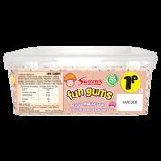 Swizzels Matlow Giant Foam Mushrooms Sweet Tub (90347)