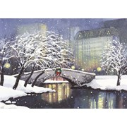 Snowfall In The Park Deluxe Boxed Cards 20s (6465)
