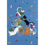 Merry Catmas Mini  Boxed Cards 30s (6618)