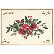 Winter Blooms & Berries Mini  Boxed Cards 30s (6671)