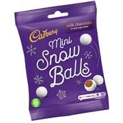 Cadbury Dairy Milk Bag Snowballs 80g (991473)