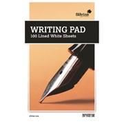 A5 Writing Pad White Ruled 100 Sheet (1720)