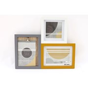 Sifcon Abstract 3 Piece Frame 35cm (AB0088)