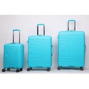 "Matrix Trolley Case Bright Blue 25"""