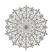 Snowflake Placemat Silver 39cm (AC176129S)