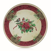 Robin Charger Plate 40cm (AC176621)
