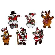 Premier 6 Asst Santa/snowman Stickers (AC205669)