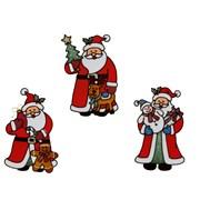 Premier 3 Asst Santa Stickers (AC205670)