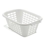 Addis Laundry Basket Wht (510610)