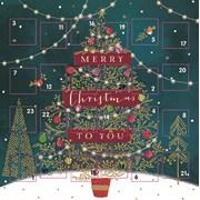 Advent Calendar Oh Christmas Tree (ADV033)