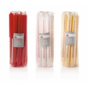 Advent Candle Assorted 25cm (AC132248)