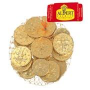 Albert Premier Sarunds Chocolate Coins 100gm (AL11)