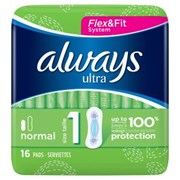 Always Ultra Normal 16s (73451)