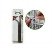 Rsw Stainsteel Straws & Brush 4pk (AM1211)