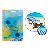 Bello Rsw Dolphin Beach Towel Clips 2s (AM2719)