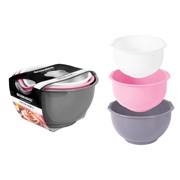 Rsw Mixing Bowls Asst Colours 3 Pack (AM2799)