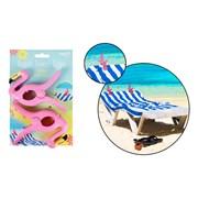 Bello Rsw Flamingo Beach Towel Clips 2s (AM2804)