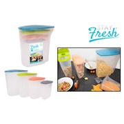 Rsw Dry Food Containers Set Of 4 (AM4116)