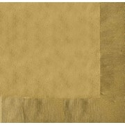 Amscan Lunch Napkin Gold 33cm 20s (51220-19)