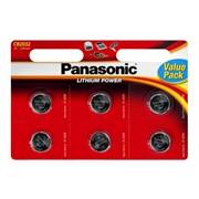 Panasonic Cr2032 Battery 6pk (PANACR2032-B6)