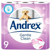 Andrex Gentle Clean 9roll (10122)