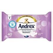 Andrex Washlets Gentle Clean 40s (10038)