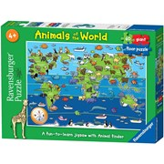 Animals Of The World Giant Floor Puzzle 60pc (7072)
