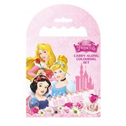 Princess Carry Along Colouring Set (PSCAR4)