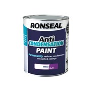 Ronseal Anti Condensation Paint Matt White 750ml (37476)
