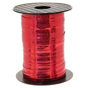 Holographic Curling Ribbon Red (R15457)