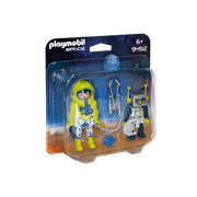 Playmobil Space Mars Mission Space Astronaut and Robot (9492)