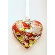 Birthstone Heart August 7cm (BH08A)