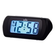 Auric Digital Alarm Clock Black (12343)