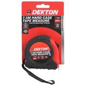 Dekton Hard Case Tape Measure 7.5m (DT55104)