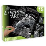 Royal Brush Engraving Art Gift Set (AVSSIL205)