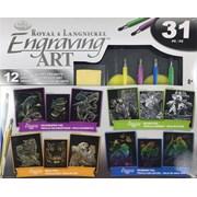 Royal Brush Engraving Art Gift Set (AVSEA301)