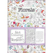 Adult Colouring & Wordsearch Books Asstd (AWS09-12)