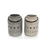 Sifcon Ceramic Lantern 11x19 (AZ0031)