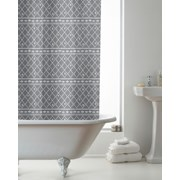 Berber Design Shower Curtain With Rings (BAC200052)